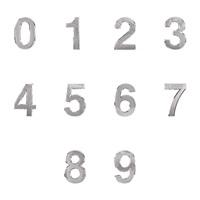 0900 - 숫자 이니셜 은색 50mm