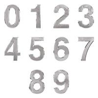 0920 - 숫자 이니셜 은색 120mm