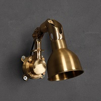 Brass Heavy Wall Lamp (W3-044)