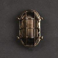 Brass Big/Small Oval (W3-076B/S)
