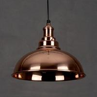 Industrial Round Copper Pendant (P3-007C)