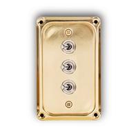 토글 스위치 커버 브라스 플레이트 / Switch Plate Brass / MK-SWIPB3
