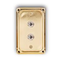 토글 스위치 커버 브라스 플레이트 / Switch Plate Brass / MK-SWIPB2