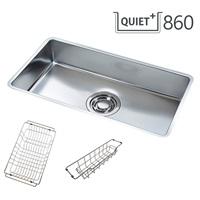 QUIET 860 SET/콰이어트 씽크볼 SET(서큘러라운드재질,배수구포함,액세서리 포함)