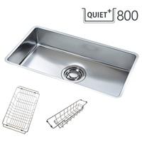 QUIET 800 SET/콰이어트 씽크볼 SET(서큘러라운드재질, 배수구포함, 액세서리포함)