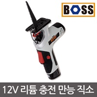 [BOSS] 12V 리튬 충전 직소기 본체 /배터리 충전기 별매/ 드릴 드라이버/직쏘/ 커터 /컷팅기/ 절단기
