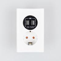 쥬니스 USB 충전 콘센트